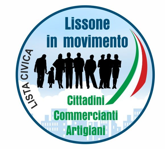 Logo Lissone in Movimento Lista Civica 2017