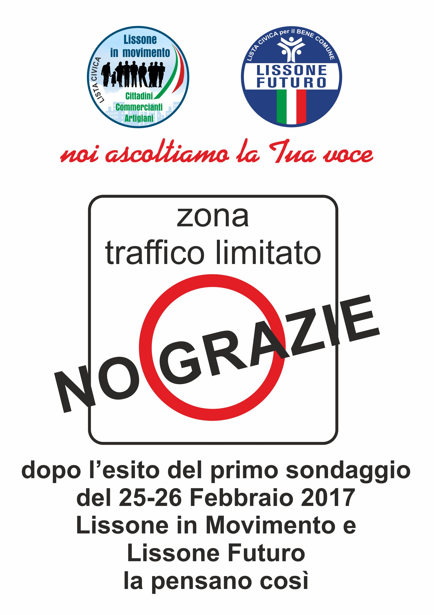 No ZTL Lissone in Movimento Lissone Futuro 2017